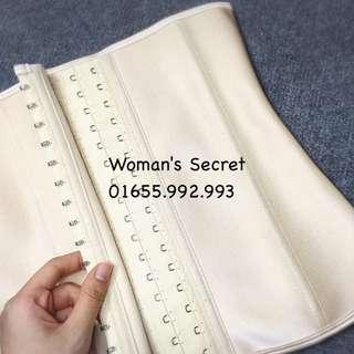 Underburst corset slimming waist