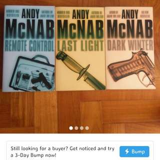 Andy McNab Thriller Books
