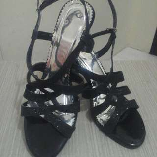 REPRICED!!Black high heels