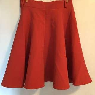 消貨🈹橙紅半身裙skirt