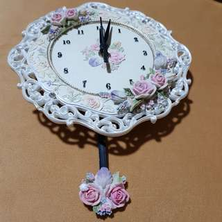 Handmade Country Style Wall Clock