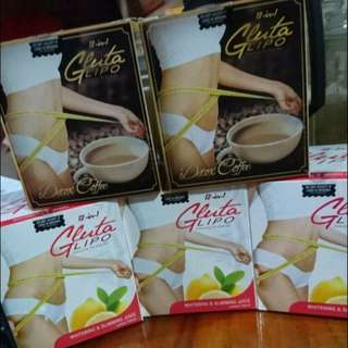 Gluta Lipo Tea or Coffee
