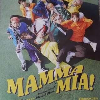 SF9 MAMMAMIA ALBUM POSTER