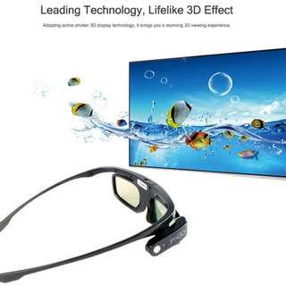 (In stock)Lightweight JmGo G1 Active Shutter 3D Glasses Intelligent Reality Headset Projector for IMAX Video Games
