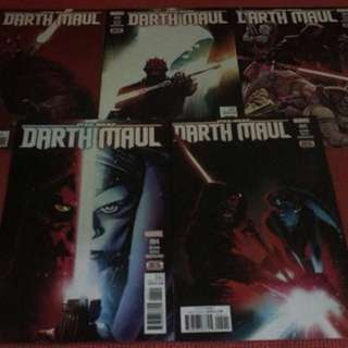Marvel Star Wars Darth Maul #1-5