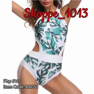 Kendal Leaf One Piece Swimwear BA011