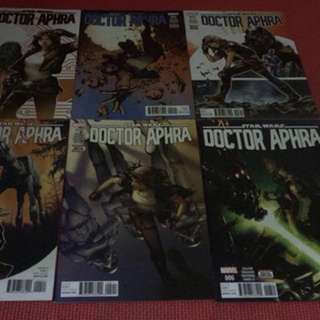 Marvel Star Wars Doctor Aphra #1-6