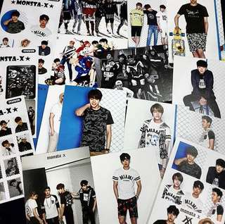[Readystock] MONSTA X Postcard