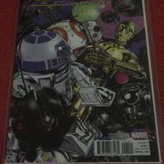 Marvel Droids Unplugged #1 Mike Allred Variant