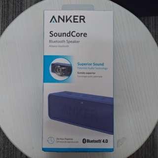 100% 全新 ANKER SoundCore Bluetooth Stereo Speaker 藍牙揚聲器 (黑/藍)