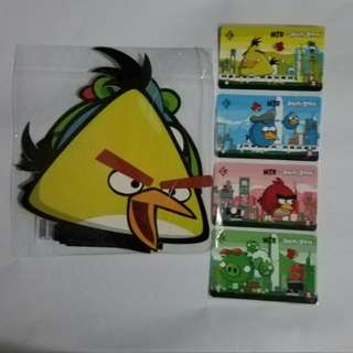 MTR X Angry Birds 紀念車票 套裝