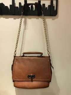 女裝啡色時尚精美手袋 / Women's Brown Bag / Women Fashion
