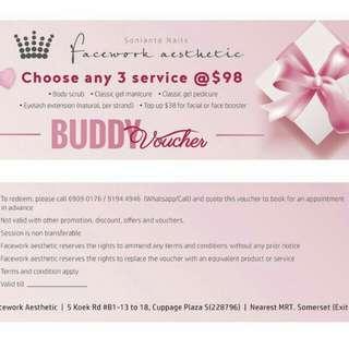 3in1 buddy voucher