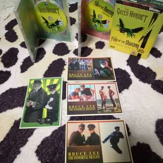BRUCE LEE The Green Hornet & The Fury Of The Dragon DVD