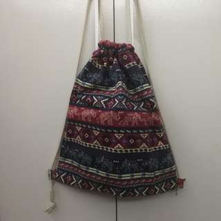 Canvass Drawstring Bag