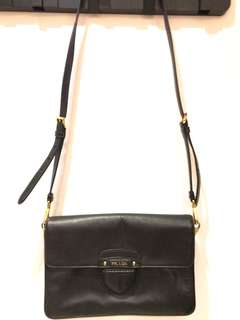 Prada 黑色手袋 / Prada Black Leather Bag