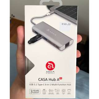 Adam Element Casa Hub A1 (USB-C Multi Adapter)