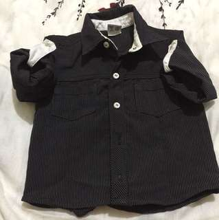 Preloved Polo for Babies (Black)