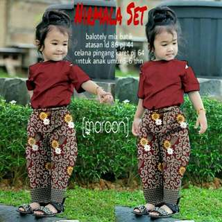 Nirmala Set Kid