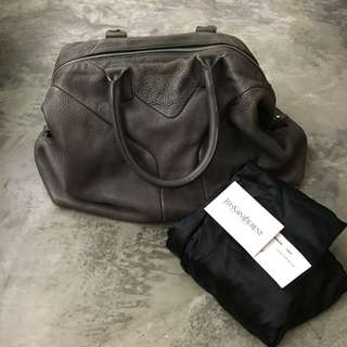 🔥 Authentic Yves Saint Laurent YSL Easy Grey Bag