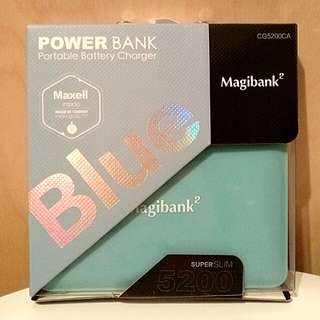 [全新] Magibank2 5200 Super Slim Power Bank / Portable Charger 尿袋