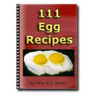 111 Egg Recipes eBook