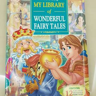 My Library of Wonderful Fairy Tales