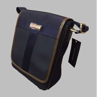 Tommy Hilfiger- Message Shoulder Bag (斜孭袋) (Navy Blue)