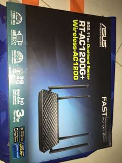Asus Router brand AT-AC1200
