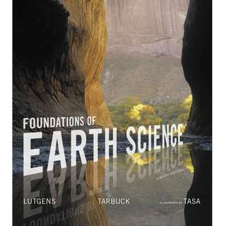Foundations of Earth Science 8th Edition