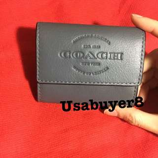 Coach coin and cardholder