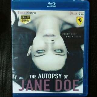 The autopsy of jane doe blu ray movie