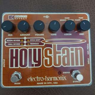 EHX Holy Stain Multi-FX pedal
