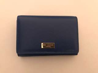 100% real Ted Baker London 細銀包