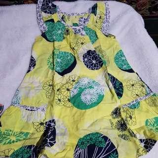 Dress anak flower (baju anak)