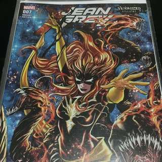 Marvel Jean Grey #7 Venomized Villains Variant