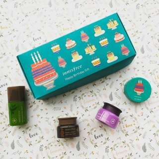 Innisfree Happy Birthday Gift Set (Travel friendly size)