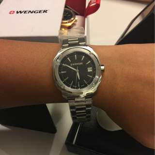 Wenger Silver Watch for Women