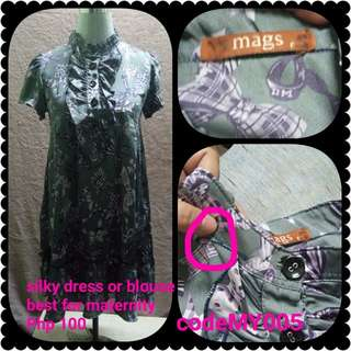 Maternity dress or blouse