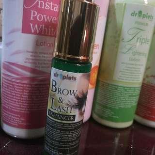 Eyelashes and brows enhancer