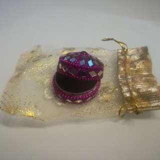 Bejeweled Trinklet Holder (Indian Themed)