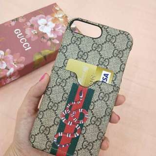 ✅GUCCI🛍🛍🛍 ✅Back Case ✅W/ Phone Card Holders  👇 📱Iphone 6g/6s 📱Iphone 6plus 📱Iphone 7g 📱Iphone 7plus 📱Iphone 8 📱Iphone 8plus 📱Iphone X  Php400