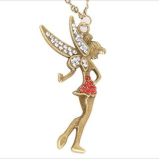 Vintage little Fairy Crystal  Pendant