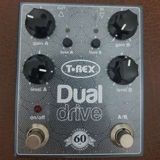 T-REX Dual Drive Limited edition effects pedal