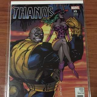 Marvel Thanos #9 Variant B