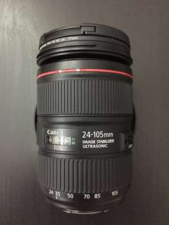 Canon 24-105mm f4L ii USM + FREE filter