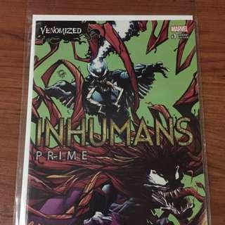 Marvel Inhumans Prime #1 Venomized Variant