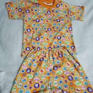 Set baju celana bayi size M