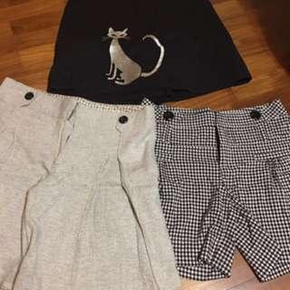 Bundle sale ladies Shorts