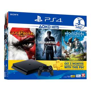 PlayStation®4 Hits 2 Console Bundle